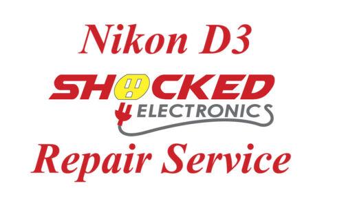 NIKON D3 Repair Service - Impact / Water Damage WE CAN FIX IT !