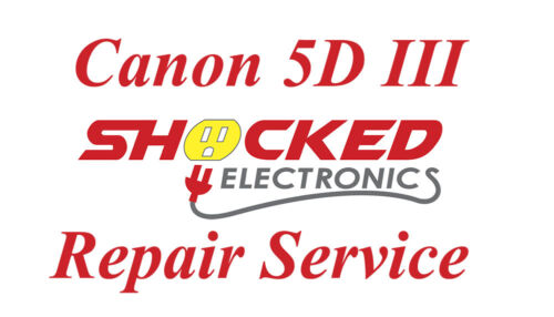 Canon 5D Mark III Repair Service - Impact / Water Damage WE CAN FIX IT !