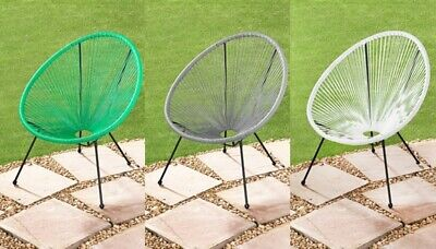 G19 Funky & Modern Hawaii String Garden Chair Suitable For Indoor & Outdoor Use. ()
