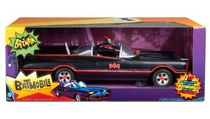 Classic TV Series Batmobile - Mattel - Fits 6