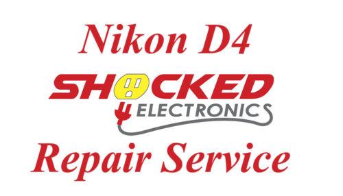 NIKON D4 Repair Service - Impact / Water Damage WE CAN FIX IT !