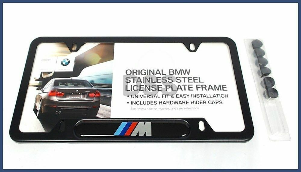 Brushed Stainless License Plate Cover OEM Ford Performance License Plate Cover
