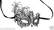 Venetian Filigree Metal Masquerade Masks