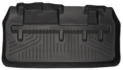 Husky Cargo Well Area Liner behind 3rd Row Seat for 2011-2019 Toyota Sienna 3rd Seat Cargo Area