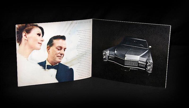 1968 General Motors Cadillac Fleetwood Eldorado Deville Series Factory Brochure