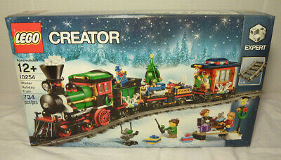 New in Box LEGO Creator Winter Holiday Christmas Train Set #10254 Retired Set