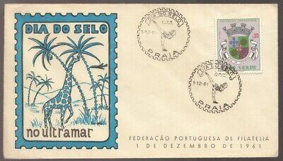 1961 CABO CAPE VERDE Villa De Assomada Praia Unused FDC - See Text