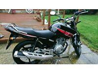 Yamaha ybr 125cc immaculate condition