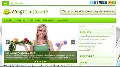Weight Loss Blog Website Installed  Automated Affiliate Site