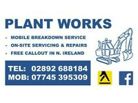 Mobile plant mechanical services