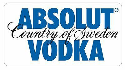 Home Decoration - Absolut Vodka Sticker Decal R387