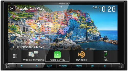 """Kenwood Excelon DDX9906XR 6.8"""" HD DVD Receiver Apple CarPlay & Android Auto"""