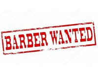 BARBER WANTED !!!!