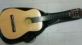 Acoustic guitar and lesson