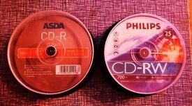new unused blank cd discs.