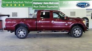 2014 Ford F-350 Lariat (Navigation  Remote Start  Moon Roof)