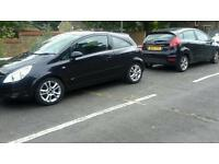 Vauxhall corsa sxi black 1.2 3door 2006 First time buyer cheap petrol and insurance sport car