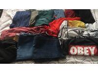 Mens clothes bundle! size m- superdry, Armani etc