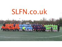 Football clubs in London, football team in London recruiting, find football near me 192h