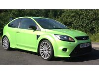 Ford Focus RS £18,200 61k miles, one careful owner excellent condition