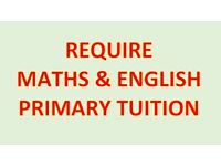Help for Maths and English for kids (Tuition)