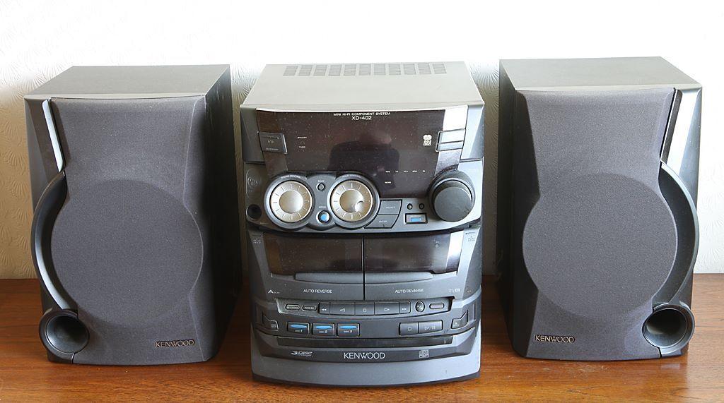 kenwood mini hifi component system in maidstone kent. Black Bedroom Furniture Sets. Home Design Ideas