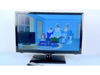 "22"" SAMSUNG LCD TV WITH STAND, POWER LEAD & REMOTE CONTROL -EXCELLENT CONDITION"