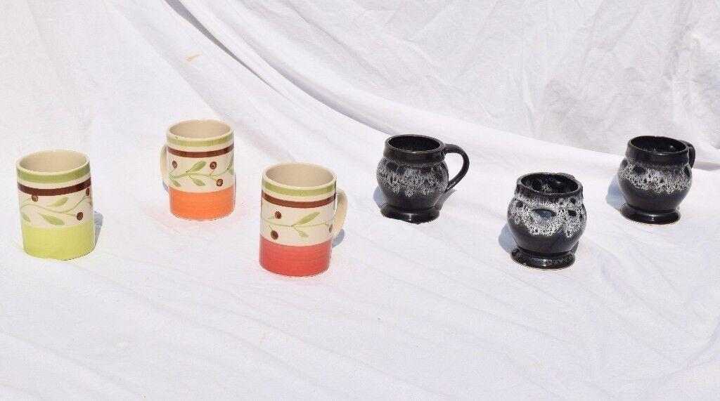 x6 Mugs (2 Matching Sets)