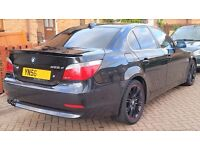 2006 BMW 525D LONG MOT FSH REMAP 200BHP FULLY LOADED 50MPG 18 SERVICE STAMPS px