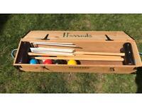 Original Harrods Croquet set, very good condition