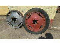Tractor Wheels T20 Ferguson.