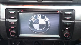 LARGE TOUCH SCREEN CAR STEREO, SAT NAV, DVD, from BMW 3 series