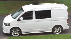 VW T5 Camper Van with Drive Away Awning