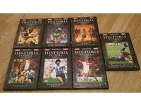 Football history dvd's
