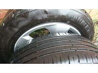 "BMW 16"" alloys with good tyres"