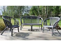 3 Piece Garden Furniture Set