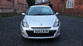 image for Renault Clio Expression Plus 1.2 Petrol 5dr 2012 *1 Year Warranty* Low Mileage 36k