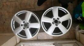 X 4 Audi/VW Alloys 5x112