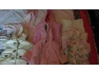 Girls 3-6 months coats and jackets