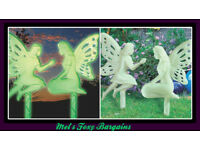 2 Glowing Fairy Stakes -new