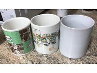 BIG!!! ... MUGS!! FUN SELECTION! ONLY £3!!WALLACE&GROMIT MALLORCA PRINTED BIG Mugs!ONLY £3 SO CHEAP!