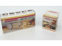 STARFRIT Cheese Slicer and Râpe-Tout STARFRIT Multi-Grater - Unused - Boxed