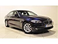 BMW 5 SERIES 2.0 520D SE SALOON 5d 181 BHP + 1 PREV OWNER + SE (blue) 2011