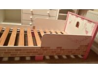 Fairy castle toddler bed