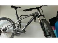 Norco full suspension mountain bike with many extras fluid 7.3