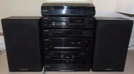 PIONEER HIFI System with Amplifier and 200W Speakers
