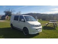 VW Campervan for hire in Kent - sleeps 2 & seats 5