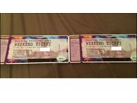 Reading Festival Weekend Camping Tickets