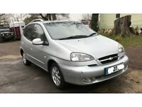 Automatic Chevrolet tacuma CDX plus, service history, low mileage, a year MOT, drives very nice.