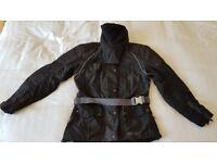 Used women's Hein Gericke GORE-TEX Waterproof Motorbike Jacket - Size 8 (fits 8/10)